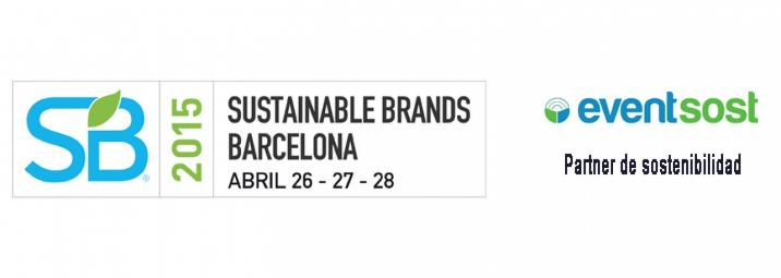 Eventsost es el partner de sostenibilidad del evento Sustainable Brands Barcelona